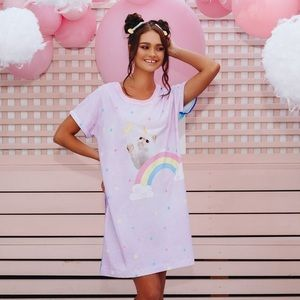 NWT✨ Blackmilk Kitticorn vs Galaxy Pastel Nightie